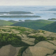 <b>View from Cadillac Mountain</b><br/>2015<br/>oil on canvas<br/>18 x 36 inches
