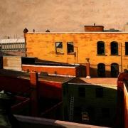 <b>Barrington Street</b><br>1998<br>oil on canvas<br>36 x 48 inches