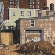<b>2361 Gottingen Street</b><br>2003<br>oil on canvas<br>20 x 24 inches
