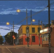 <b>The Intersection</b><br>2011<br>oil on canvas<br> inches