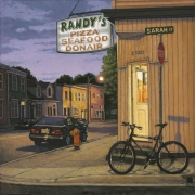 <b>Randy and Sarah</b><br>2010<br>oil on canvas<br>18