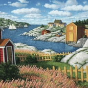 <b>Eastern Harbour</b><br>2004<br>oil on canvas<br>30 x 40 inches
