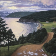 <b>Dawn, Cape Breton</b><br>2003<br>oil on canvas<br>