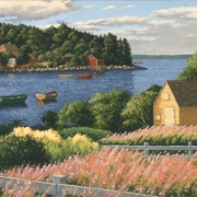 <b>Fireweed</b><br>2006<br>oil on canvas<br>18 x 24 inches