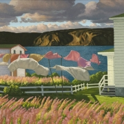 <b>Ocean Breeze</b><br>2009<br>oil on canvas<br>48 x 24 inches