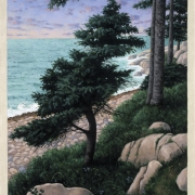 <b>The North Shore</b><br>2003<br>oil on canvas<br>30 x 24 inches