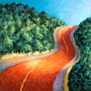 <b>Vers de la Mer</b><br>1999<br>oil on canvas<br>18 x 22 inches
