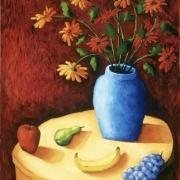 <b>John's Still Life</b><br>1996<br>oil on canvas<br>36 x 28 inches