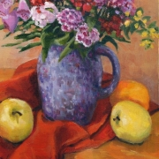 <b>Still Life for Ashley</b><br>1996<br>oil on canvas<br>14.5 x 18 inches