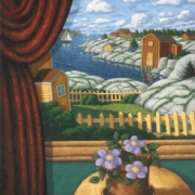 <b>East Coast Still Life</b><br>2007<br>oil on canvas<br>24 x 20 inches