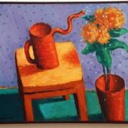 <b>Nurturing</b><br>1996<br>oil on canvas<br>16 x 20 inches
