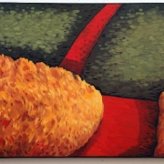 <b>Red Road Through the Hills</b><br>1994<br>oil on canvas<br>24 x 36 inches