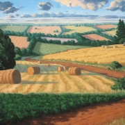 <b>Harvest</b><br>2002<br>oil on canvas<br>2002 inches