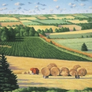 <b>The Haycart</b><br/>2002<br/>oil on canvas<br/>40 x 30 inches