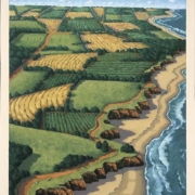 <b>Over Prince Edward Island</b><br>2008<br>oil on canvas<br> inches