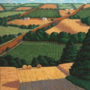<b>Across the Hills, PEI</b><br>2008<br>oil on canvas<br>32 x 24 inches