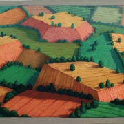<b>Landscape Number 1</b><br/>1999<br/>oil on canvas<br/>36 x 48 inches