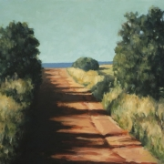 <b>Road to the Sea</b><br>2003<br>oil on canvas<br>20 x 32 inches